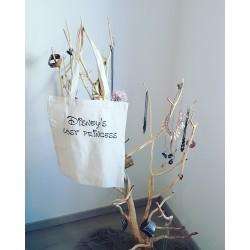 Tote bag Lost princess