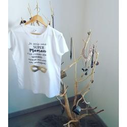 T shirt : Super Maman