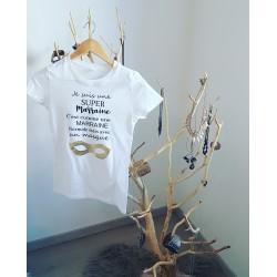 T-shirt Super Marraine