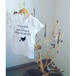T shirt Maman poule